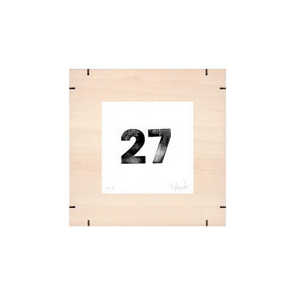 【写真】【一点物】Paper Parade Printing 「365days 27」