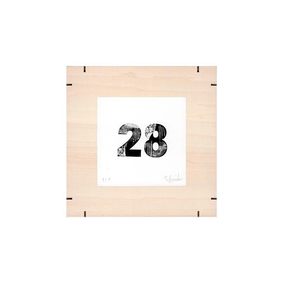 【写真】【一点物】Paper Parade Printing 「365days 28」