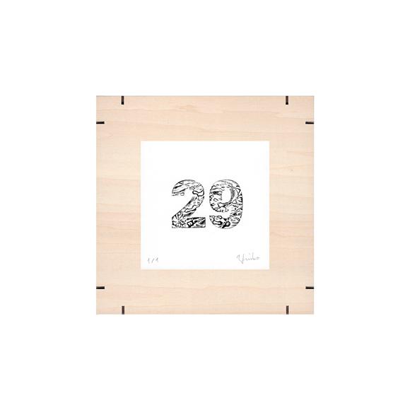 【写真】【一点物】Paper Parade Printing 「365days 29」