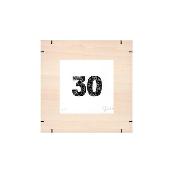 【写真】【一点物】Paper Parade Printing 「365days 30」