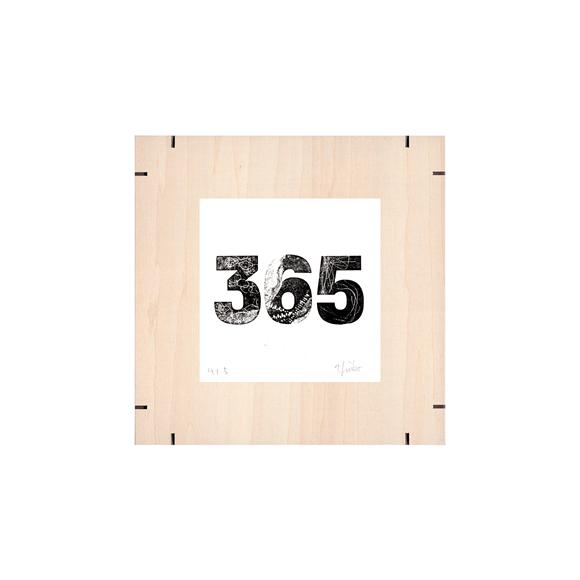 【写真】【一点物】Paper Parade Printing 「365days 365」