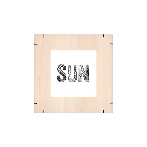 【写真】【一点物】Paper Parade Printing 「365days SUN」