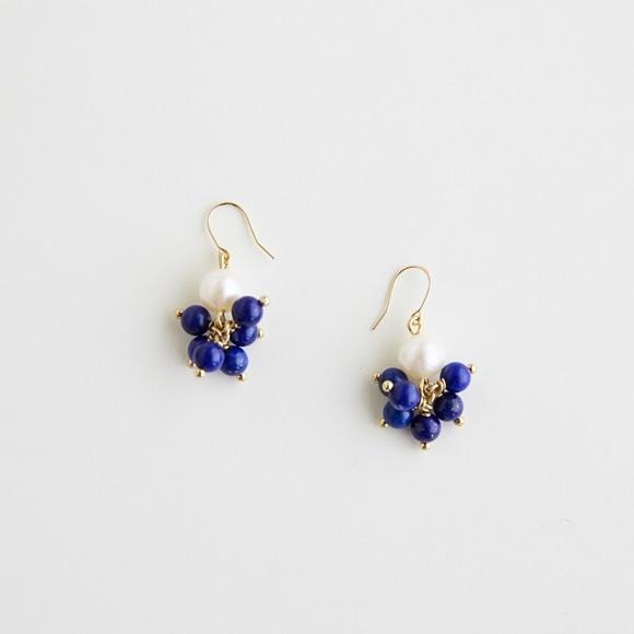 【写真】sai Pierce Lapis Lazuli & Pearl