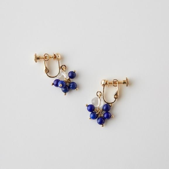 【写真】sai Earring Lapis Lazuli