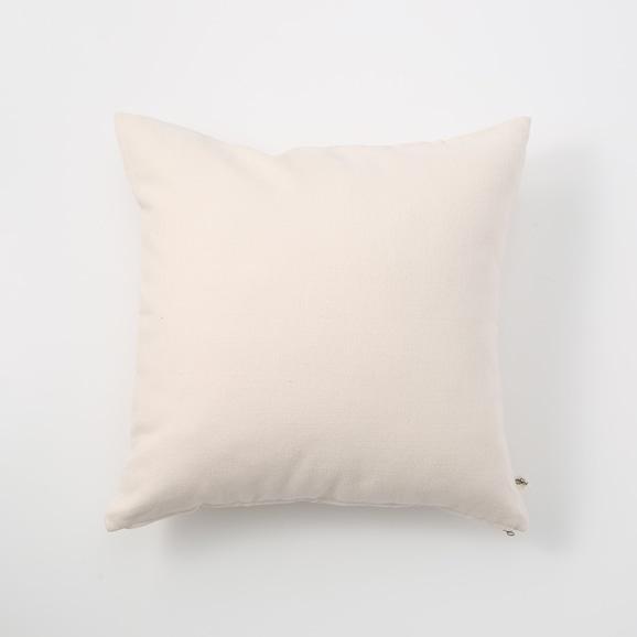 【写真】IDEE CALEIDO クッションカバー 40cm角 White