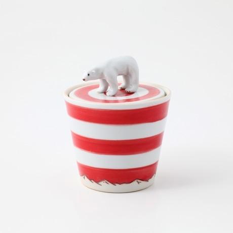 【写真】AMETSUCHI シロクマの箱 M