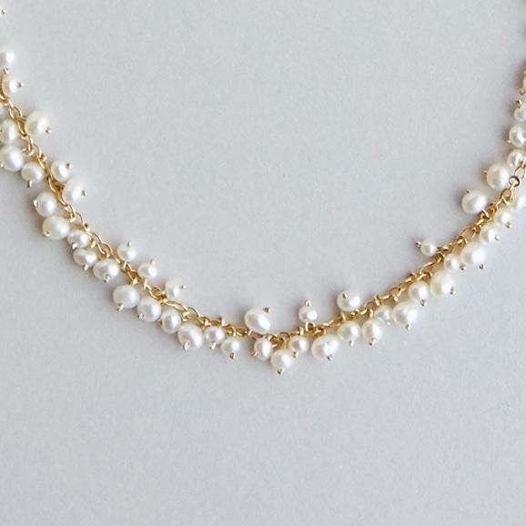 【写真】asumi bijoux shirotsumekusa necklace