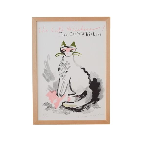 【写真】前田 ヒサエ 「The Cat's Whiskers!」