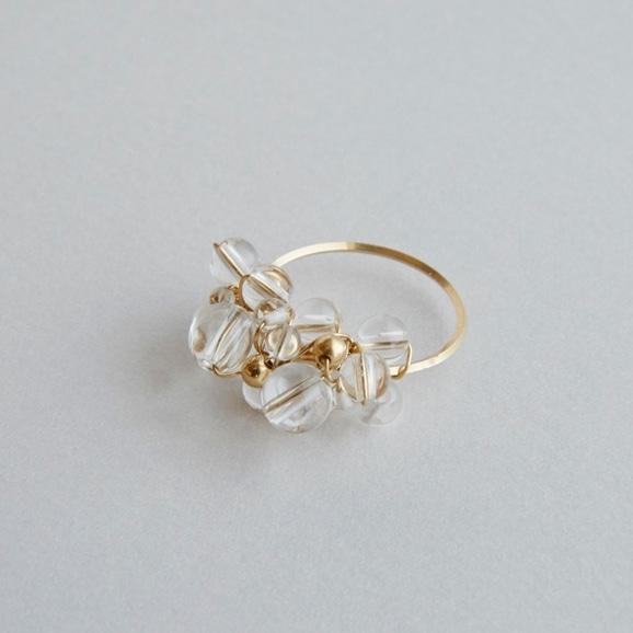 【写真】asumi bijoux asatsuyu ring crystal S