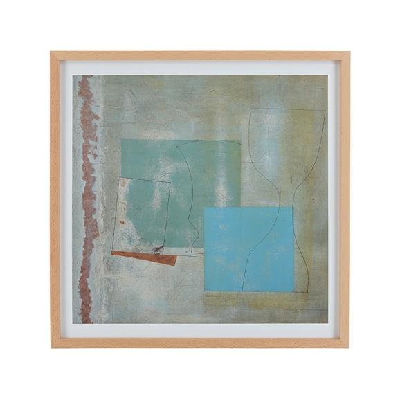 【写真】ベン・ニコルソン 「June,1961 (green goblet and blue square)」