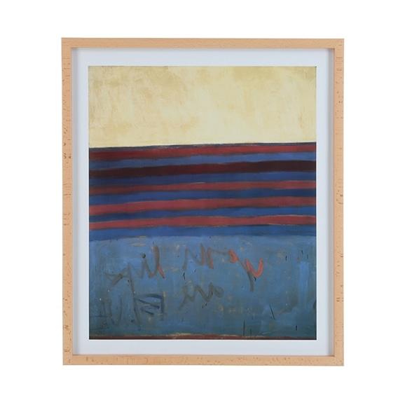 【写真】フランク・ステラ 「Your Lips are Blue,1958」