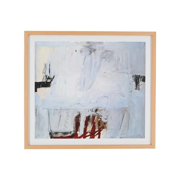【写真】【定番品】アントニ・タピエス 「Blau mit vier roten Staben,1966」