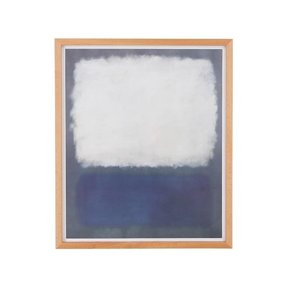 【写真】【定番品】マーク・ロスコ 「Blue and grey.1962」