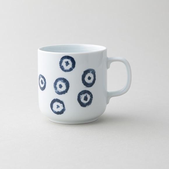 【写真】POOL コロコロのもの 白磁マグカップ