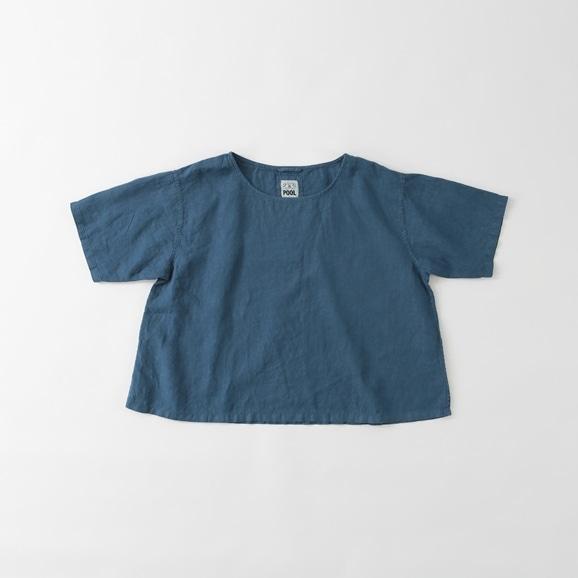 【写真】POOL いろいろの服 ブラウス ブルー