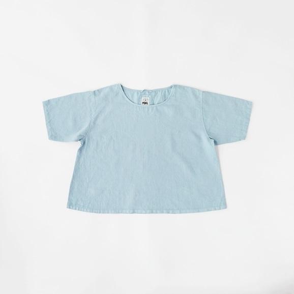 【写真】POOL いろいろの服 ブラウス ライトブルー