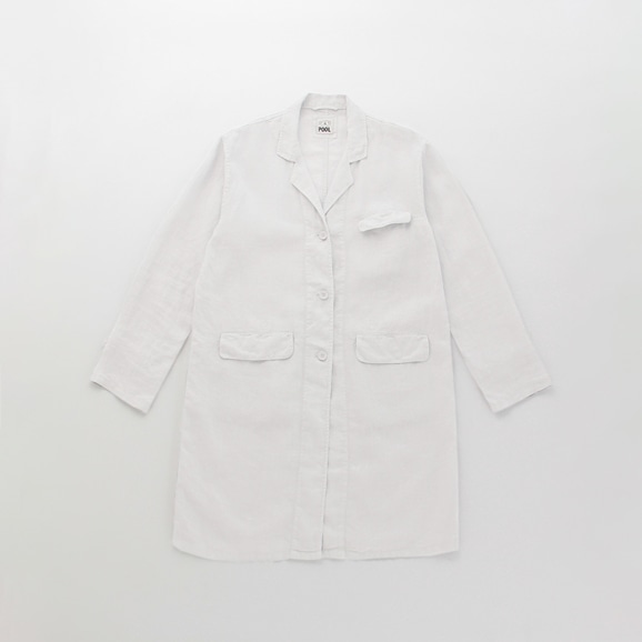 【写真】POOL いろいろの服 アトリエコート ライトグレー