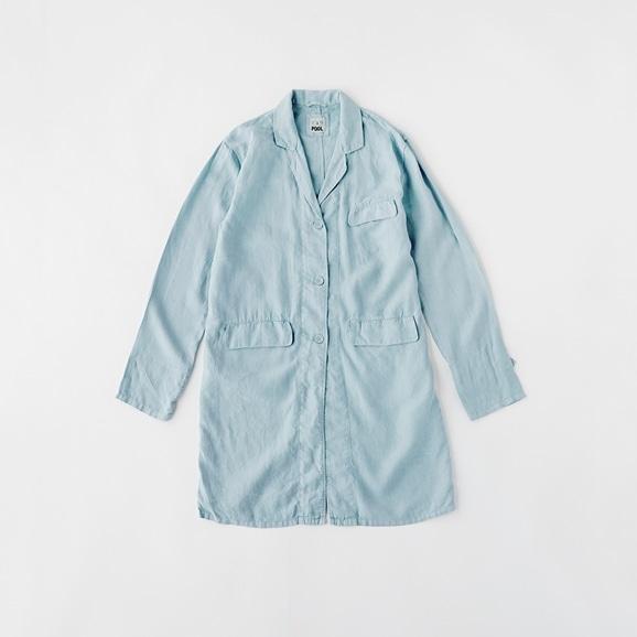 【写真】POOL いろいろの服 アトリエコート ライトブルー