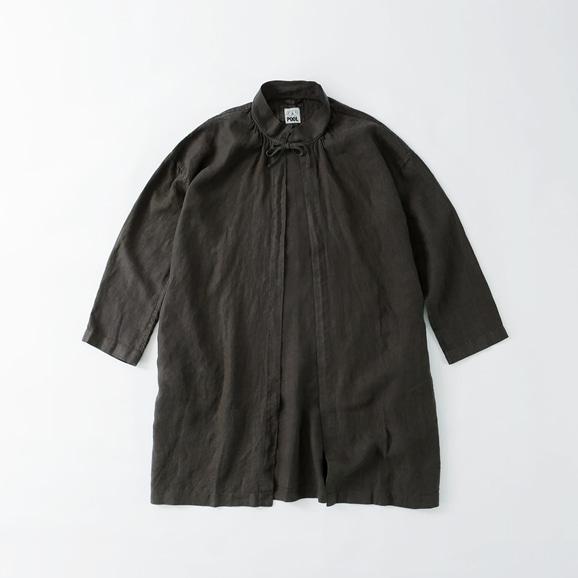 【写真】POOL いろいろの服 コート チャコール