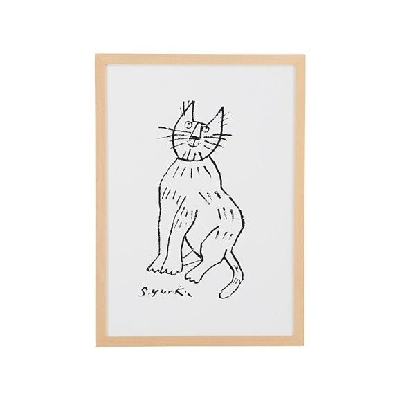 【写真】柚木 沙弥郎 「一匹の猫」