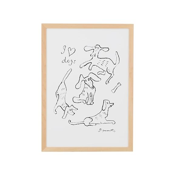 【写真】柚木 沙弥郎 「犬の毎日」