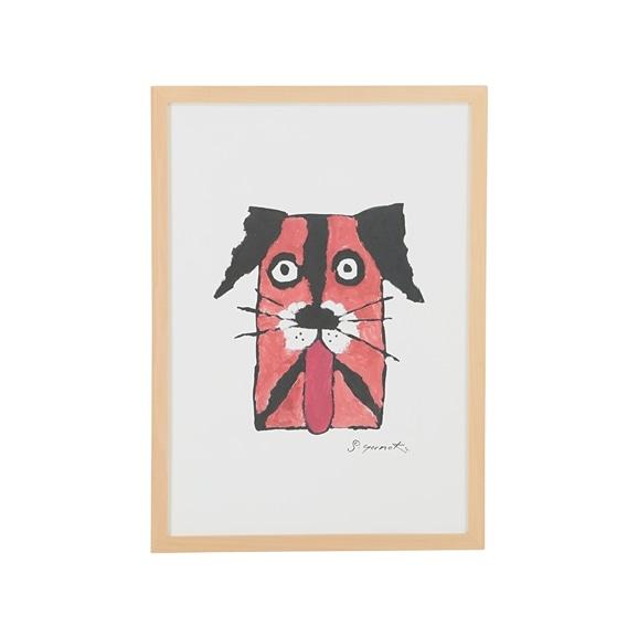 【写真】柚木 沙弥郎 「犬の肖像」