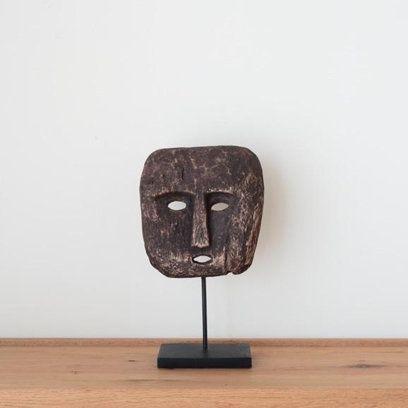 【写真】【一点物】ティモール島 ウッドマスクのオブジェ