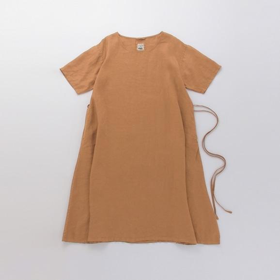 【写真】POOL いろいろの服 ワンピース ブラウン