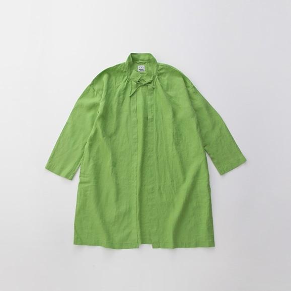 【写真】POOL いろいろの服 コート ライムグリーン