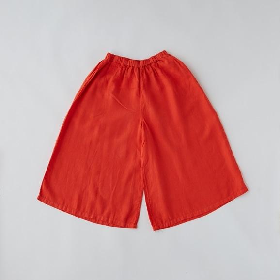 【写真】POOL いろいろの服 ワイドパンツ ヴィヴィッドレッド