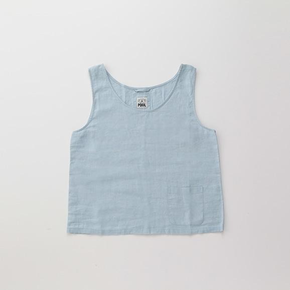【写真】POOL いろいろの服 タンクトップ ライトブルー