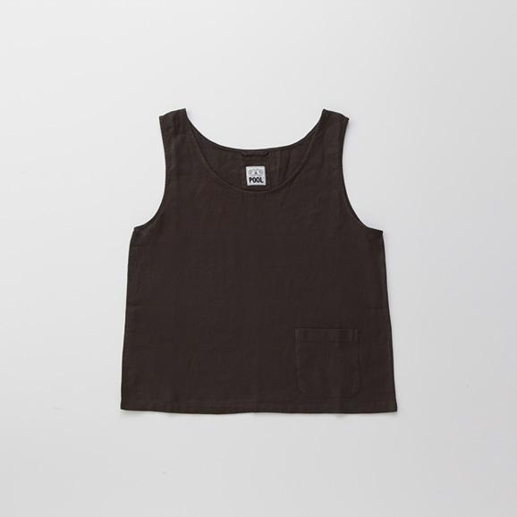 【写真】POOL いろいろの服 タンクトップ チャコール