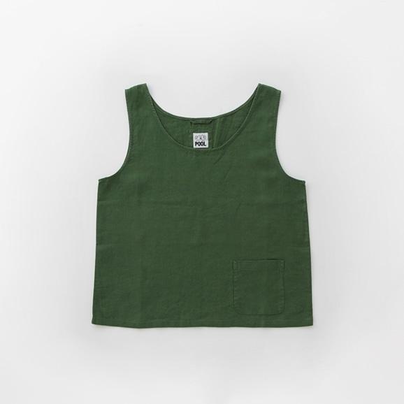 【写真】POOL いろいろの服 タンクトップ アイビーグリーン