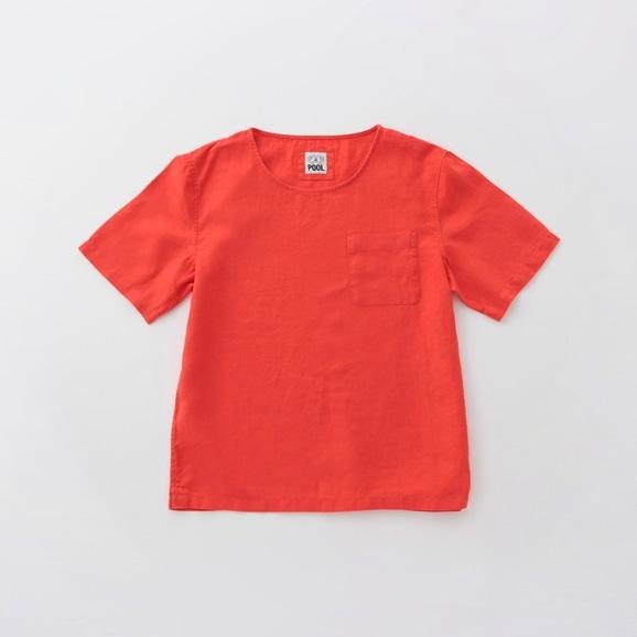 【写真】POOL いろいろの服 ポケットTシャツ ヴィヴィッドレッド