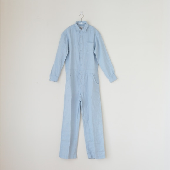 【写真】POOL いろいろの服 オールインワン ライトブルー
