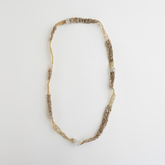 【写真】sai Necklace Crystal Quartz
