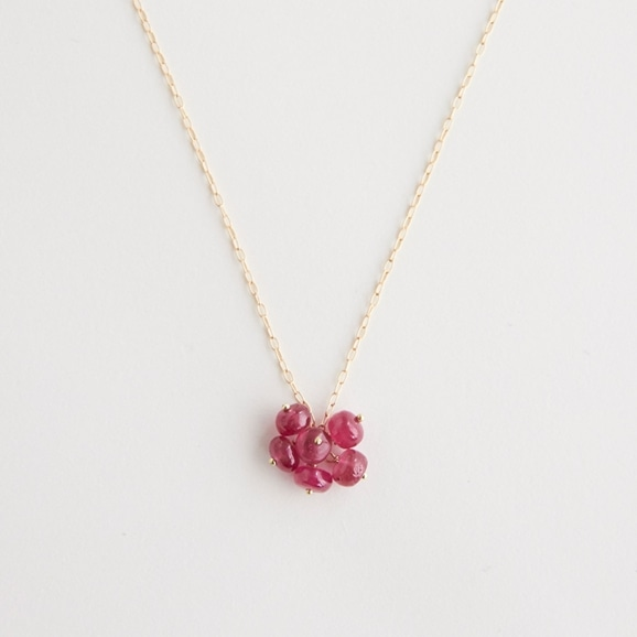 【写真】sai Necklace Ruby