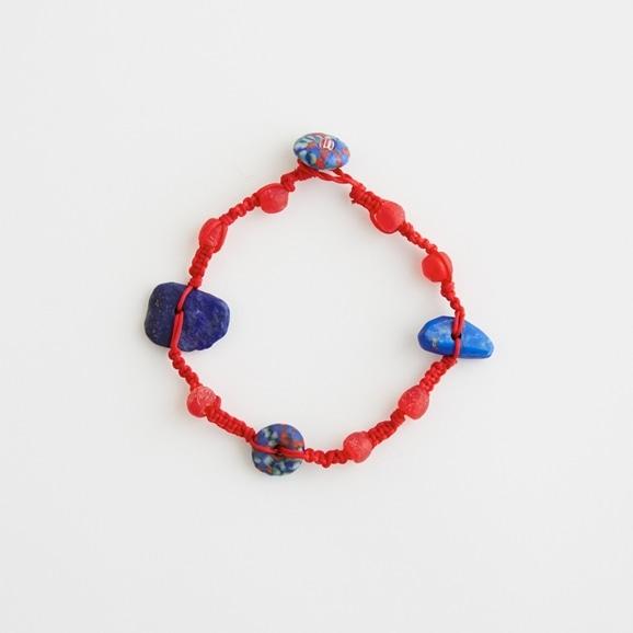 【写真】sai Bracelet Lapis Lazuli & Vintage Beads