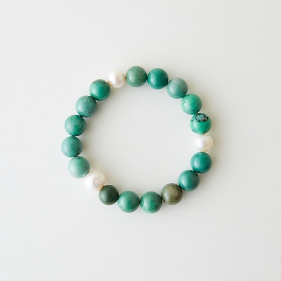 【写真】sai Bracelet Green Opal