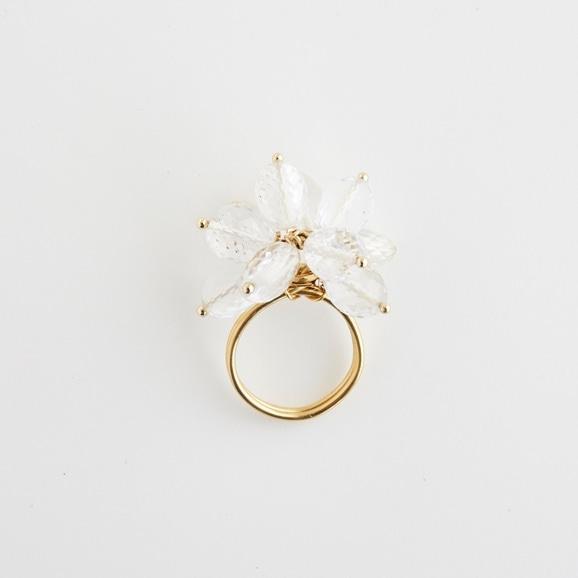 【写真】sai Ring Crystal Quartz