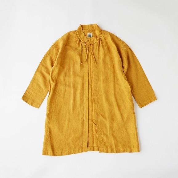 【写真】POOL いろいろの服 コート マスタード