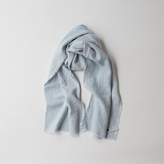 【写真】POOL いろいろの服 ストール ライトブルー