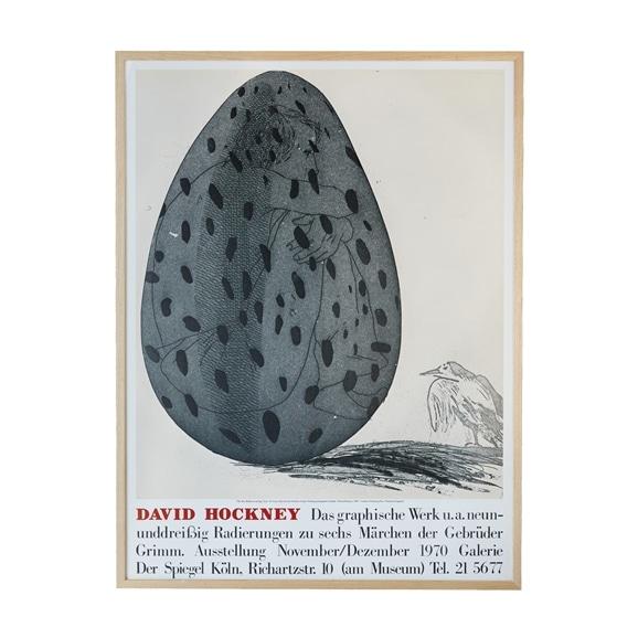 【写真】【定番品】デイヴィッド・ホックニー 「卵の中の少年」
