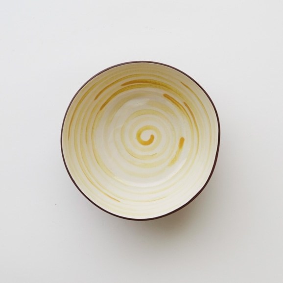 【写真】DEEP TERRACOTTA BOWL-Swirl