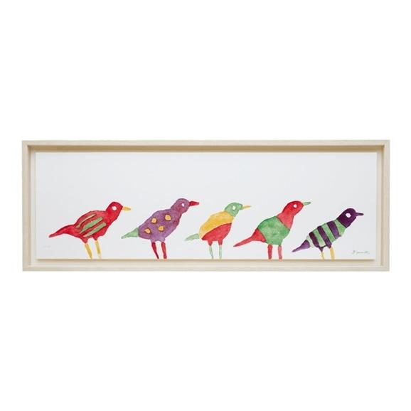【写真】柚木 沙弥郎 「小鳥」