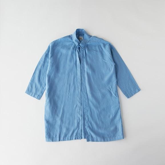 【写真】POOL いろいろの服 コート スカイブルー