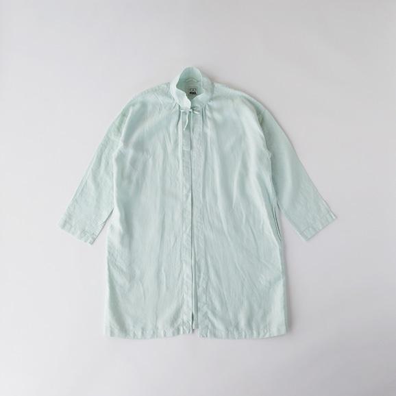 【写真】POOL いろいろの服 コート ミントブルー
