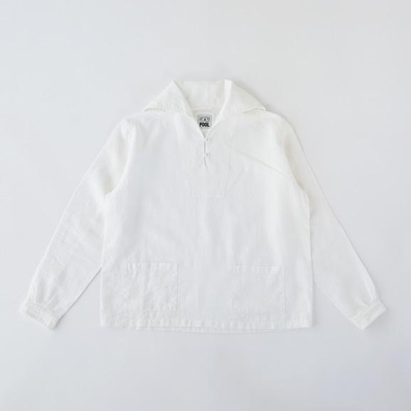 【写真】POOL いろいろの服 セーラーシャツ ホワイト