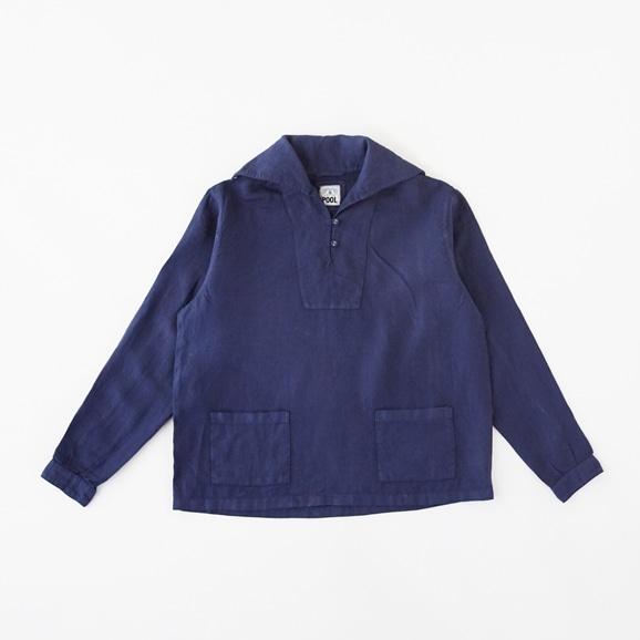 【写真】POOL いろいろの服 セーラーシャツ コスモスブルー