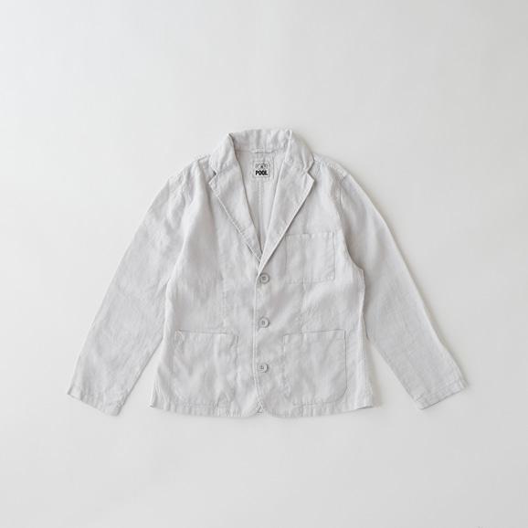 【写真】POOL いろいろの服 ジャケット レディス ライトグレー